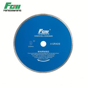 Diamond cutting disc circular saw blades for dry cutting stone masonry