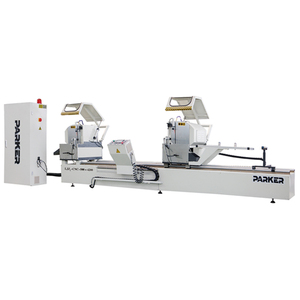 LJZ -CNC-E500-Automatic Double Mitre Saw Cutting Machine/Automatic Aluminum Section Double Head Cutting Machine