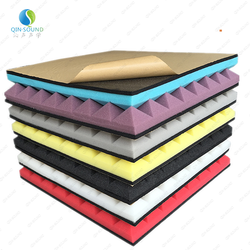 Melamine Acoustical Panel Soundproof Device Corrugated Acoustic Studio Foam ic Sponge Foam