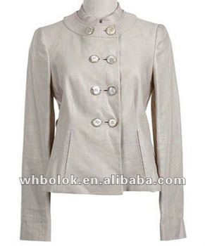finest selection 0b761 7e21f Donna Moderna Giacca In Pelle Bianca Blazer Per Le Donne - Buy Giacca In  Pelle,Giacche Per Donna,Giacca In Pelle Product on Alibaba.com