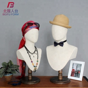 Wholesale head mannequin ,fiberglass female and male manequins heads sale,jewellery display mannequin
