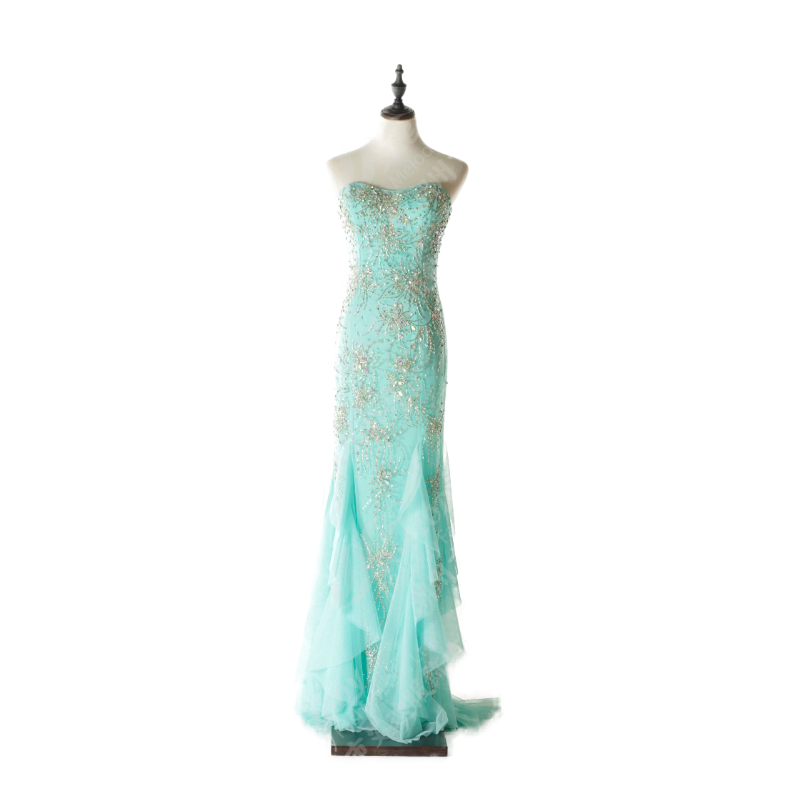 0a3b41899fcc79 Nieuwe Mode Strapless Pastel Kleur Vrouwen Elegante Groothandel Avondjurken
