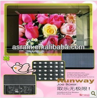 P4 LED display module outdoor solution for led rotating display