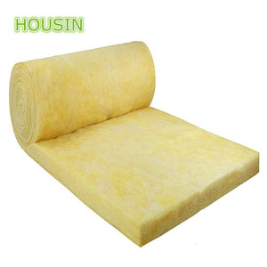 fiber glass duct insulation 50mm thick 48kg/m3 Single side aluminum foil