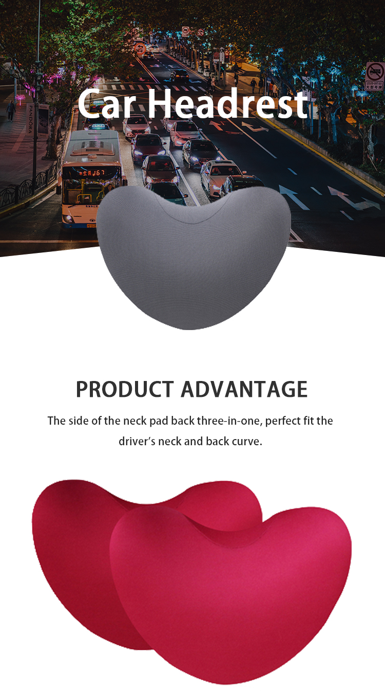 TY-M-010 Heart-shaped side rest car waist back pillow cushion
