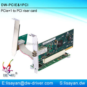 PCI-e to pci slot converter card