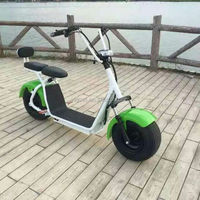 new products high speed fat tire two seats harley electric scooter with bluetooth