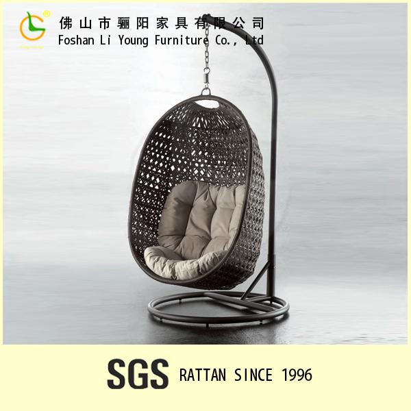 rotin oeuf suspendus chaise balan oire ext rieure ensemble unique en osier fauteuil suspendu. Black Bedroom Furniture Sets. Home Design Ideas