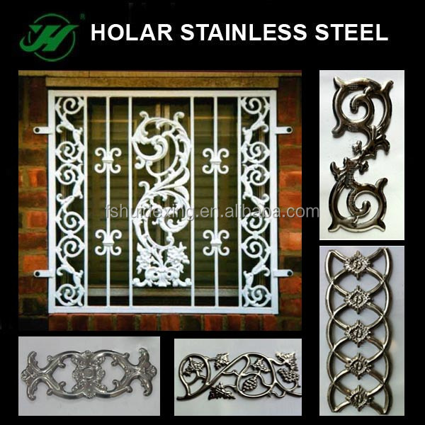 Stainless Steel Window Grill Design And Gate Decorative Buy