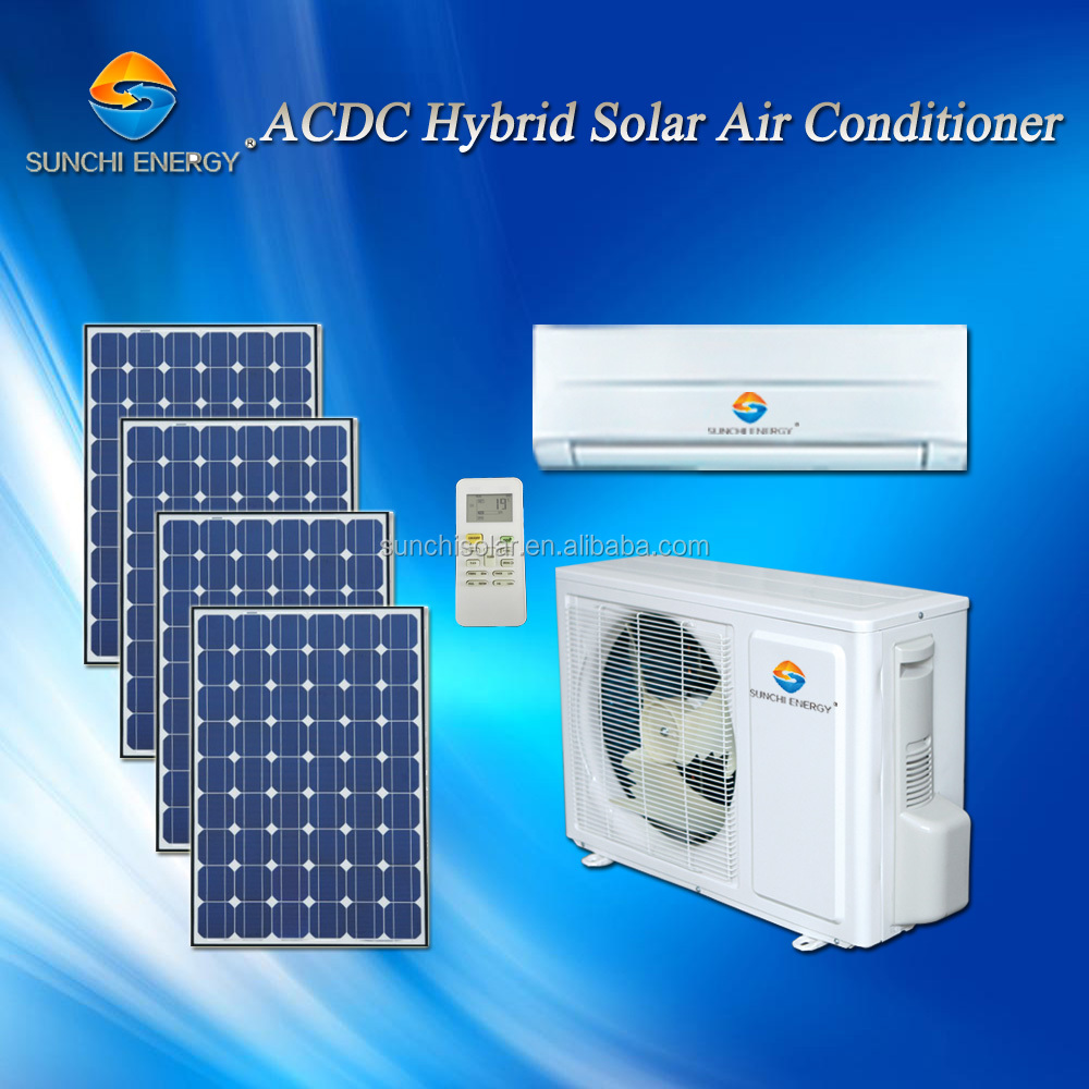 ACDC 9000btu 12000btu 90% wall best split type solar power cheapest air conditioning and refrigeration