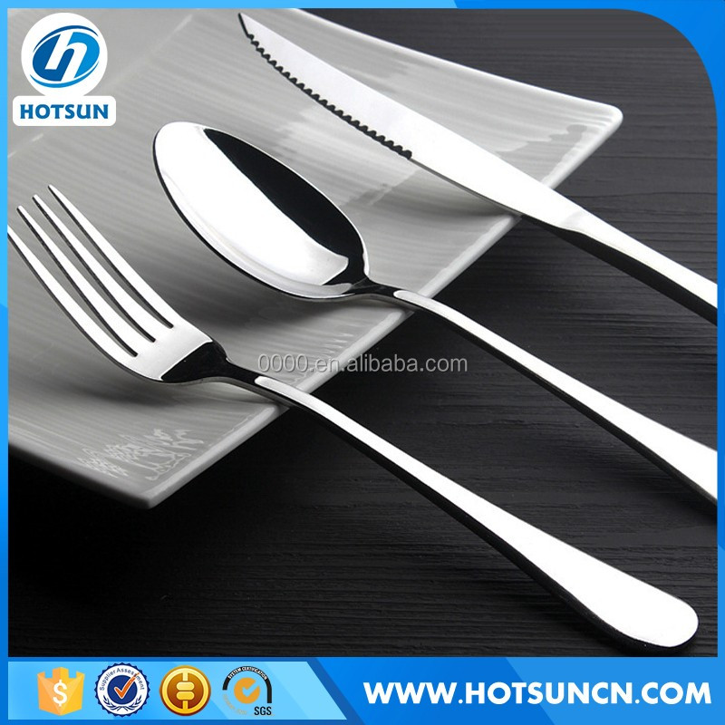 Low MOQ And Short Delivery Date Hotel stainless steel cutlery