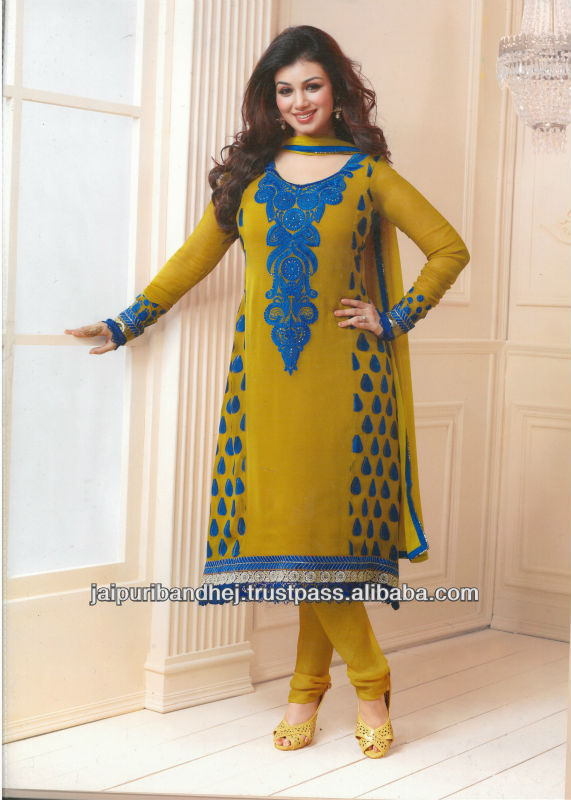 New Unique Bollywood Designer Casual Wear Salwar Suits For Girls