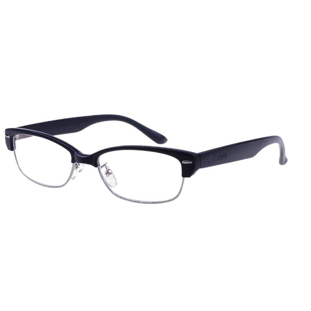 Meijunter Vintage Coating Reading Glasses Black Half-frame Women Men Reader Reading Glasses Strength +1.00 +1.50 +2.00 +2.50 +3.00 +3.50 +4.00