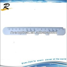 China optical plastic straight type PD ruler
