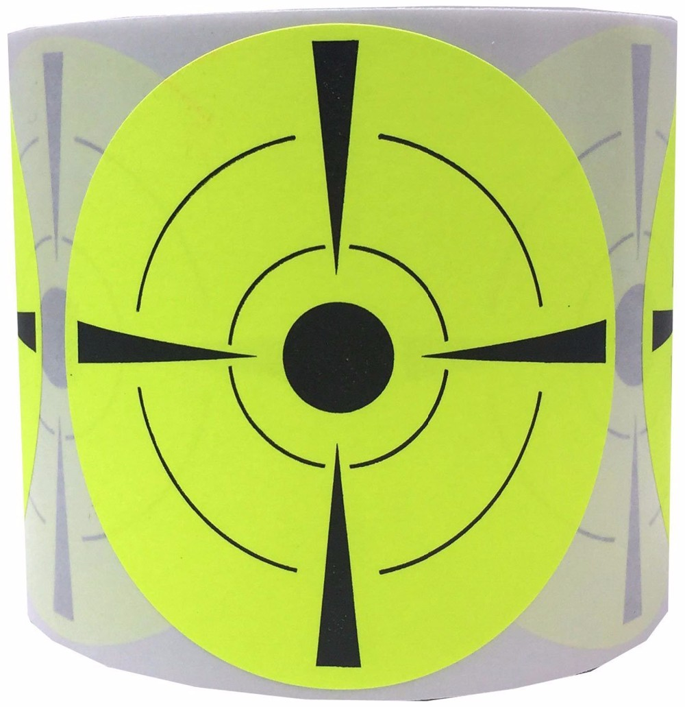 Target Stickers #1 Rated Self Adhesive Targets for Shooting | We Offer the Highest Quality Adhesive Shooting