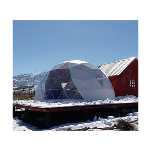 Luxury dome shelters camping from Shelter Dome