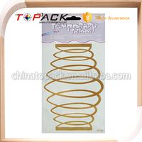 Custom Design Professional OEM/ODM Factory Supply new products metallic tattoos wholesale