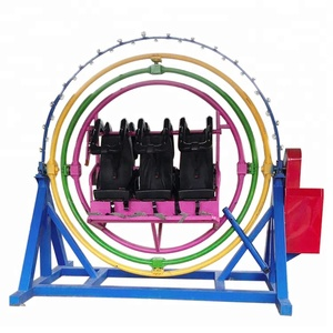 Modern Portable cheap outdoor amusement rides human gyroscope rides for sale
