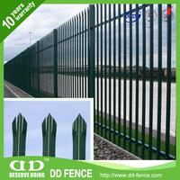 Green Palisade Fencing / Devils Fork Fence / Round Top