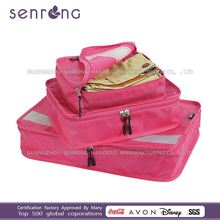 custom all kinds of packing cubes/Travel Cube Organizer travel bag parts