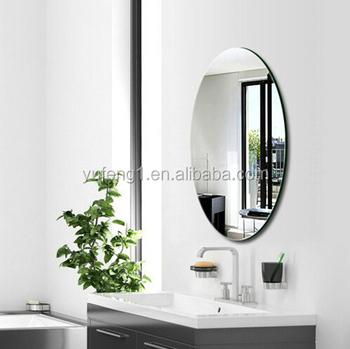 En Gros Pas Cher Biseau Sans Cadre En Verre Ovale Miroir De Salle De Bain -  Buy Miroir De Salle De Bain,Miroir Biseauté,Miroir Ovale Product on ...