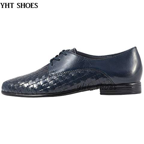 work ladies fashion women shoes shoes oxford Chengdu dress woven I4fxYIp