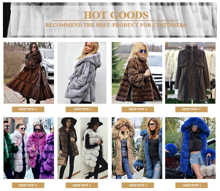 2019 스타 (energy star) style 퍼 공급자 lady's 도매 밍크 fur coat women
