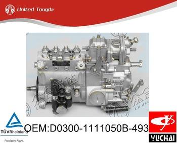 Original Yuchai Engine Yc4d Fuel Pump D0300-1111050b-493