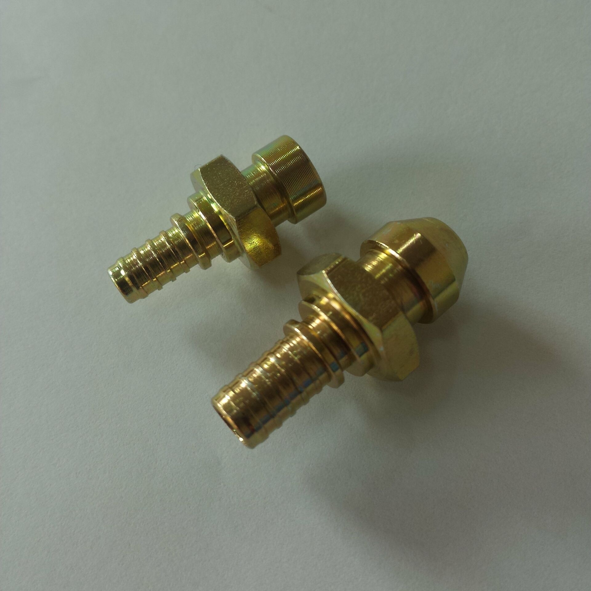 China supplier factory custom hose copper brass compression fittings