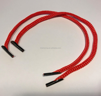 cord string with silicon barb ends