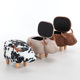 Good Quality Modern Style Animal Shape Children Storage Stool Shoes Changing Stool Kids Ottoman