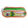 pvc zipper pencil case for stationery,school pencil D-S076