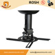 Rotate 360 Degrees Pitch Adjustable Flip Down Projector Ceiling Mount