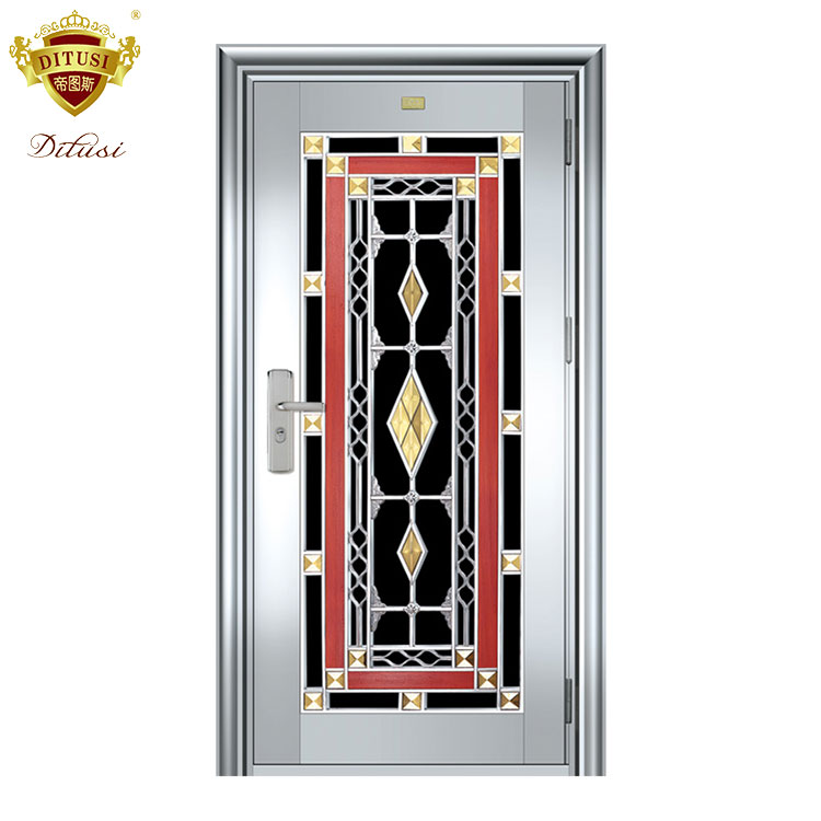 Stainless Steel Safety Doors Design With Grill Jh302 Buy Safety Door Design Will Grillsafety Doorsstainless Steel Safety Door Product On