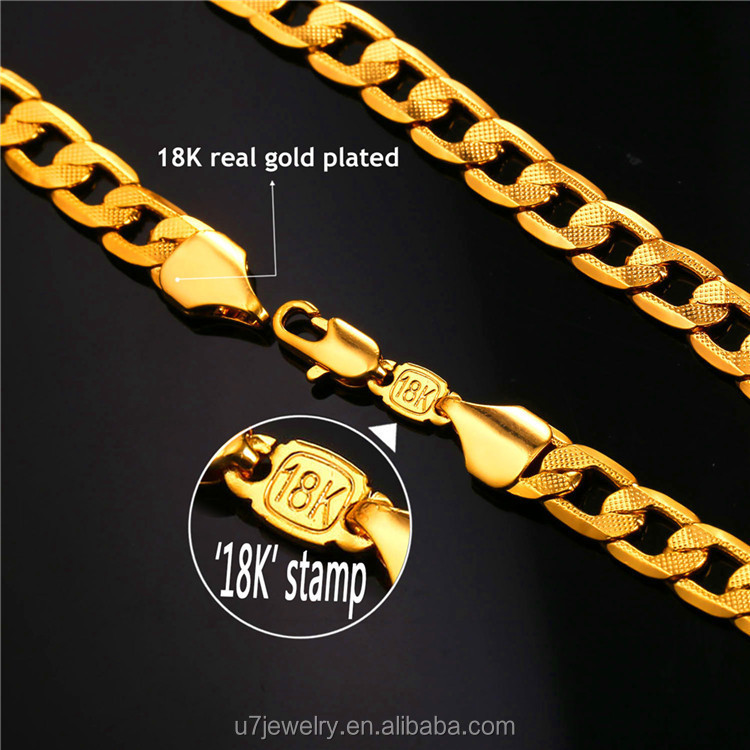 halukakah large ecuatwitt plated chain chains daddy big necklace pendant k hands gold free clasping mens real with prayer rope