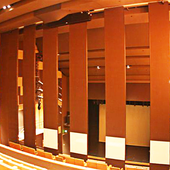 Soundproofing Floor To Ceiling Acoustic Folding Partition System