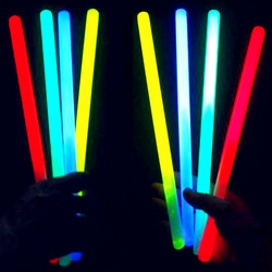 Fantastic Party Favor 8'' Neon Light Lumistick Glow Stick, Glow Bracelet Mix Colors Light Up Sticks