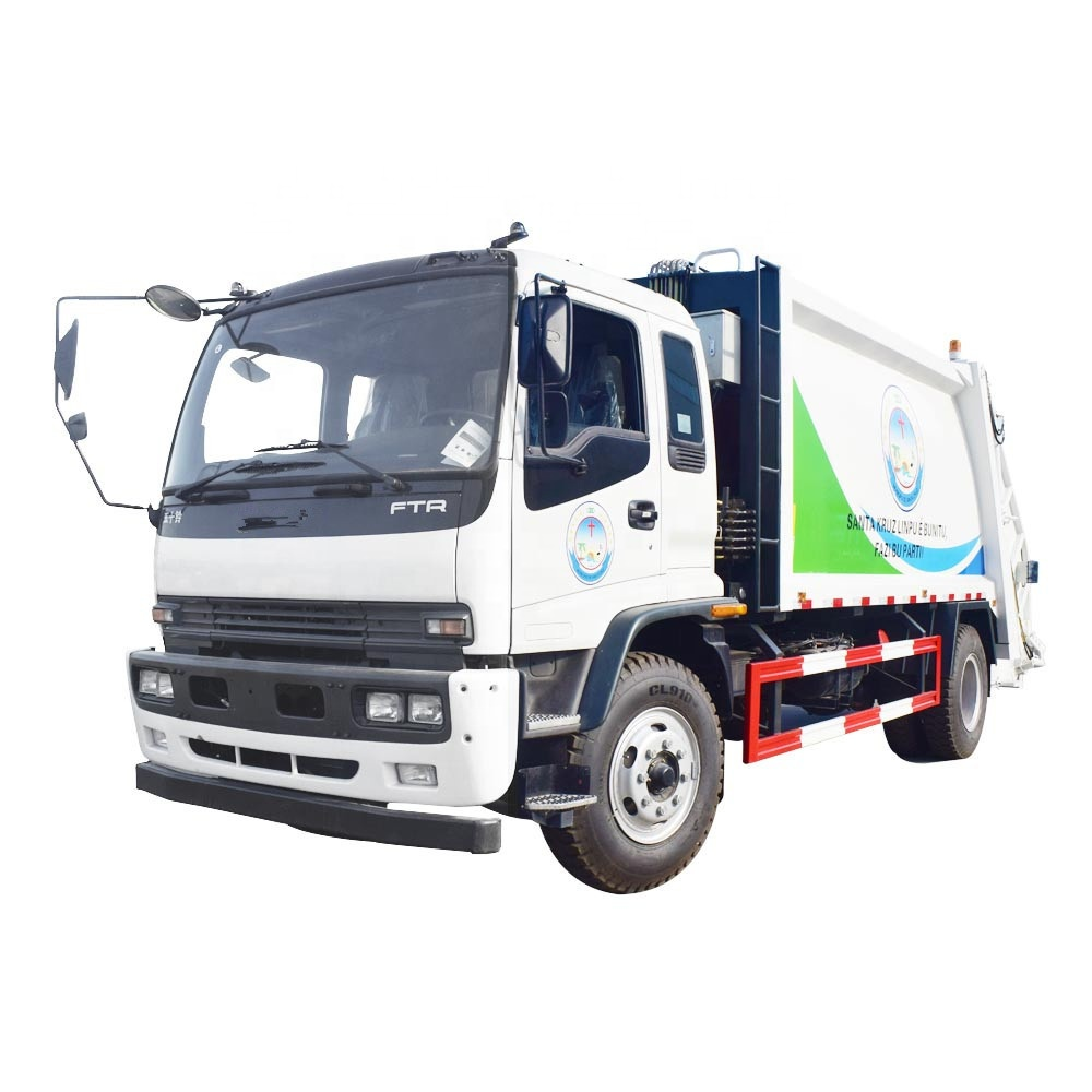China Factory Janpan brand 14cbm Garbage Truck Model