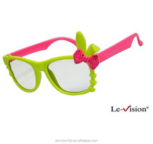 3d passive glasses for kids/fashionable kids 3d glasses/ digital cinema 3d glasses