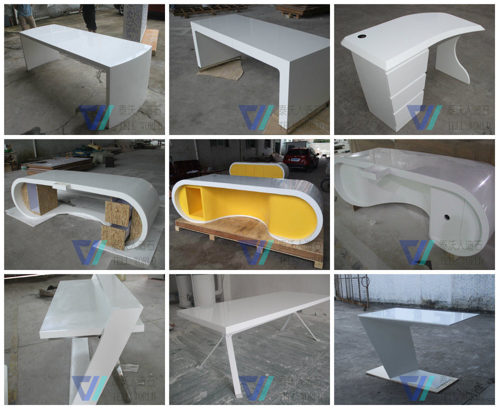 design of office table. Design Office Table. Pure White Curved Glass Table Boss Desk For 2 People Of