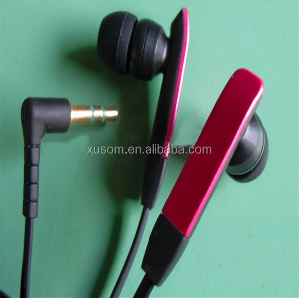 High quality good looking 10cm wired cute earphone