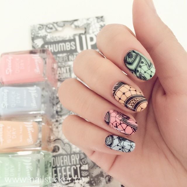 Custom Nail Stickers Wholesale, Nail Stickers Suppliers - Alibaba