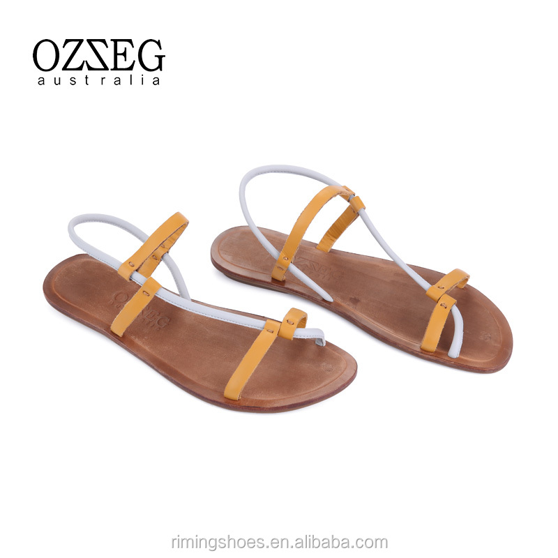 outdoor sexy girls wears sheepskin genuine leather sandals for women