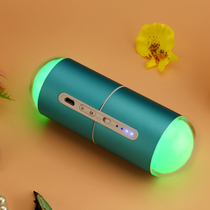 Wholesale power bank reusable pocket usb rechargeable hand warmer with led light