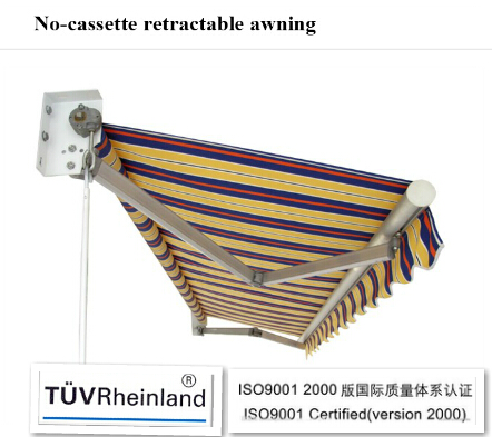 European style rain protection awning for windows(remote control)
