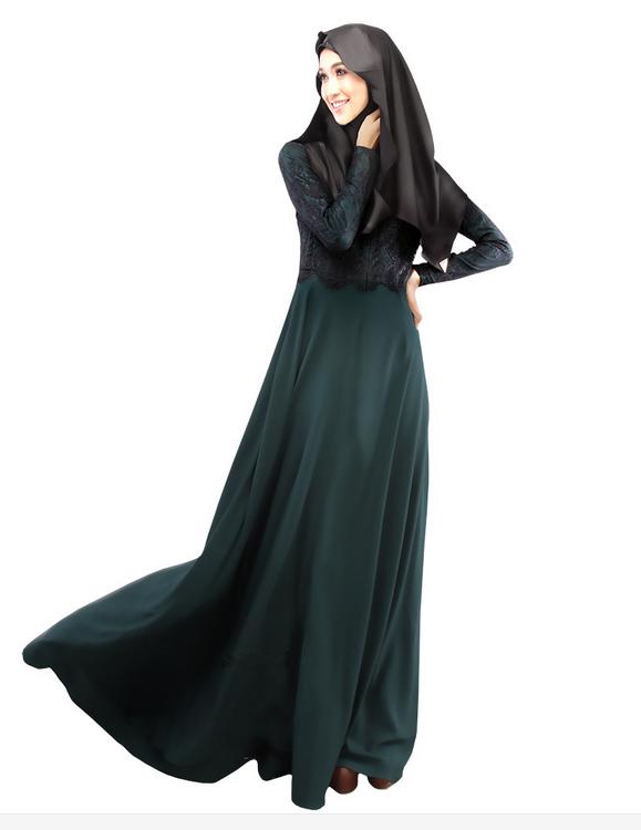 Alibaba Manufacture Girls Abaya Long Sleeve Baju Melayu Lace Top ...