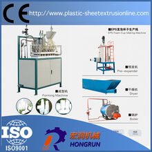 Expandable polystyrene foam cups forming machine