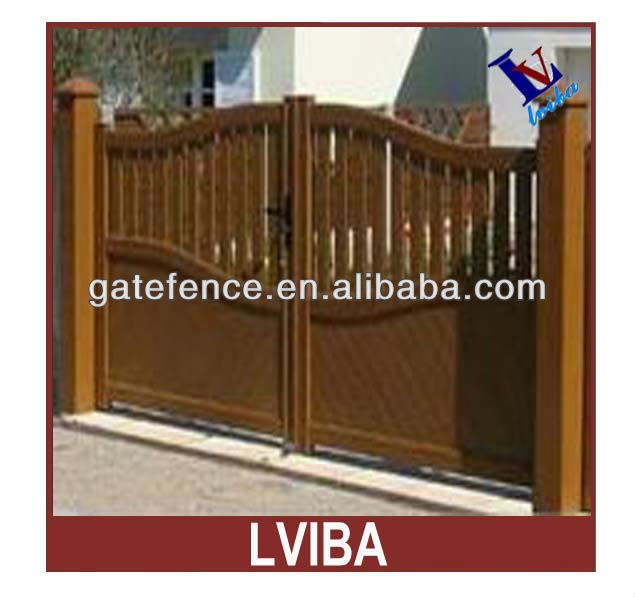 Main Gate Colors&metal Yard Gate,Outdoor Sliding Gate