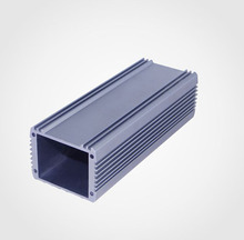 OEM 6063 hollow tubular aluminum housing heat sink for electronic devices