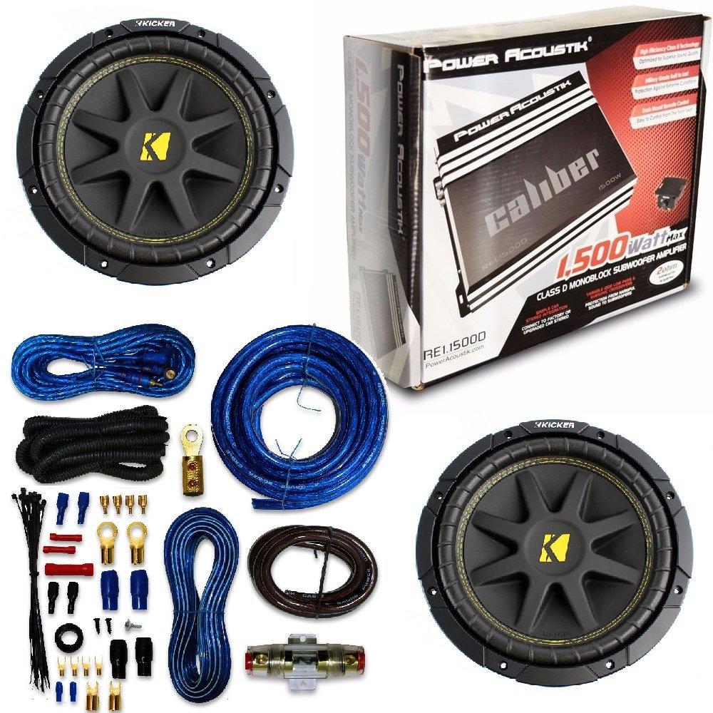 Soundstorm 8 Gauge Ga Car Amplifier Amp Complete Kit Wiring